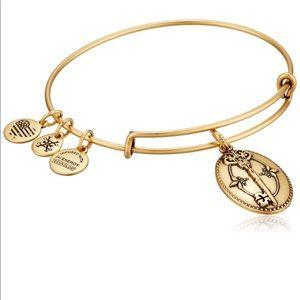 Alex and Ani Key To Life Expandable Rafaelian Bangle Bracelet